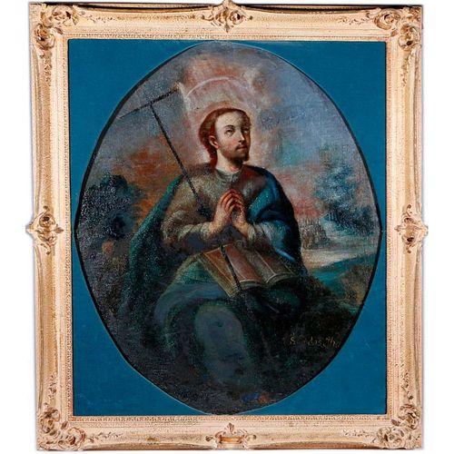 An 18th century Portrait of Saint Judas.