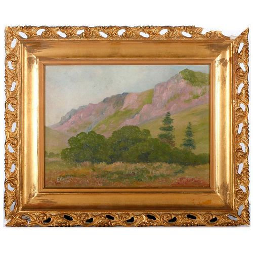 Painting of Mt. Whitney.