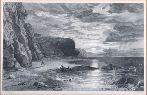 Two 19th century etchings.