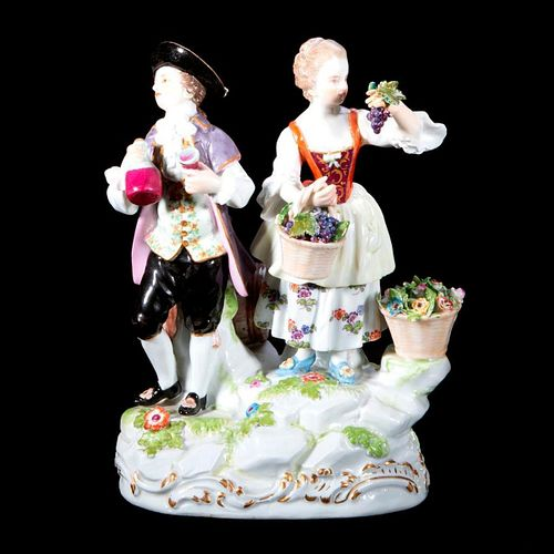 Meissen Figural Group