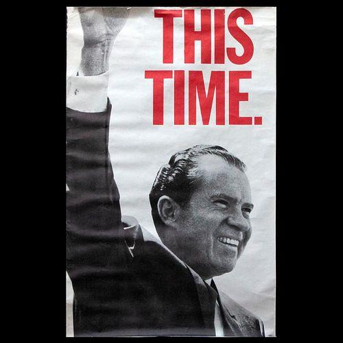A President Nixon poster.