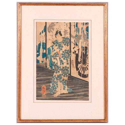 Utagawa Kuniyoshi (1798 - 1861) Japanese woodblock print