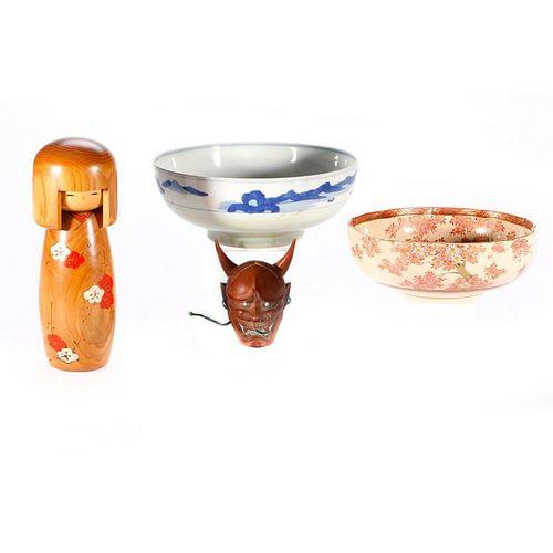 Four Japanese pieces.
