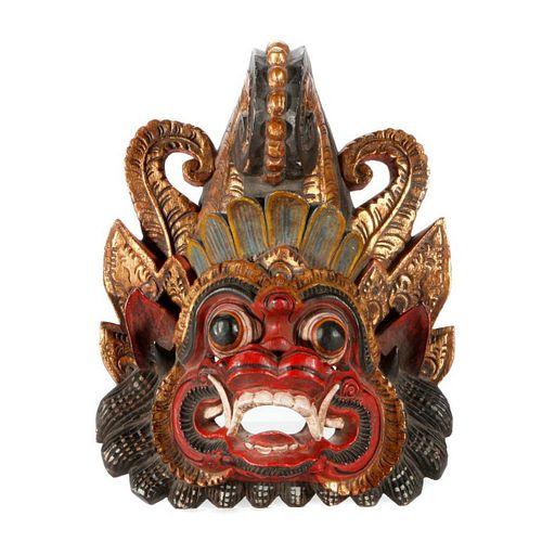 A Balinese mask.