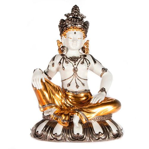 Italian porcelain Buddha.