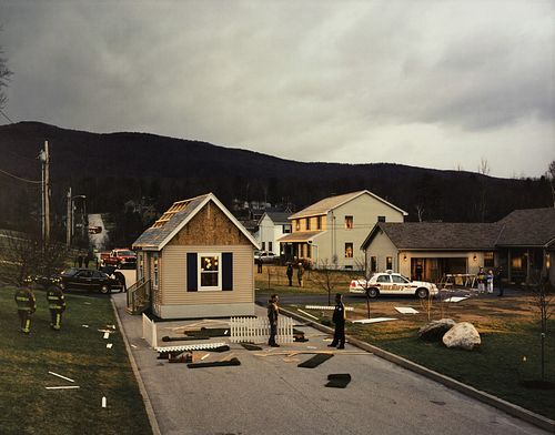 Gregory Crewdson (1962)  - Untitled (House in the Road), 2002