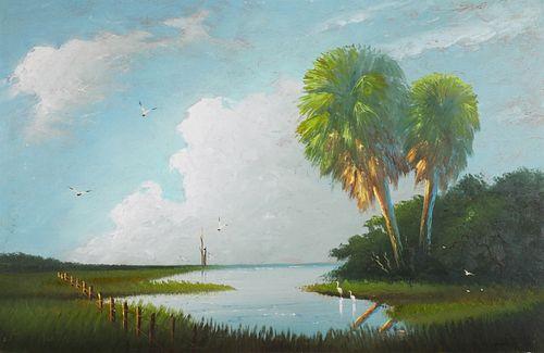 JOHNNY DANIELS, Highwaymen Painting