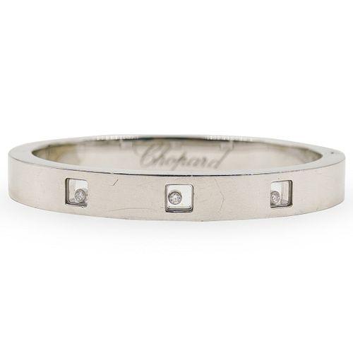 Chopard 18k Gold and Diamond Bangle Bracelet