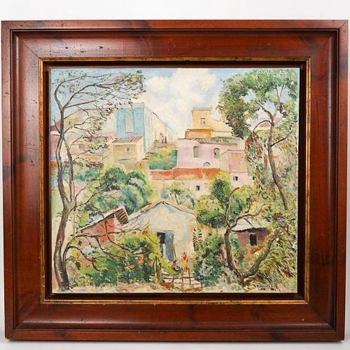 Armando Lira (Chilean, 1903-1959) Oil on Canvas