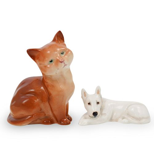 (2 pc) Royal Doulton Porcelain FigurinesÂ