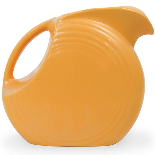 Vintage Fiestaware Yellow Pitcher
