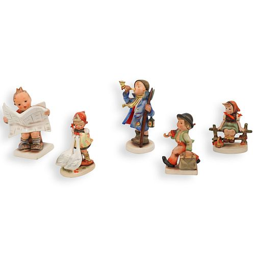 (5pc) Collection of Hummel Porcelain FigurineÂ