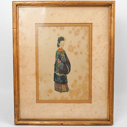 Framed Chinese Print