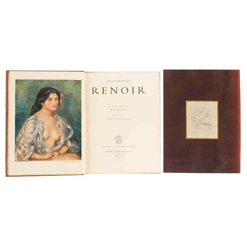 Pach, Walter. Pedro Augusto Renoir. Barcelona: Editorial Grijalbo Española, 1961. Illustrated with 49 plaques. Includes one engraving.