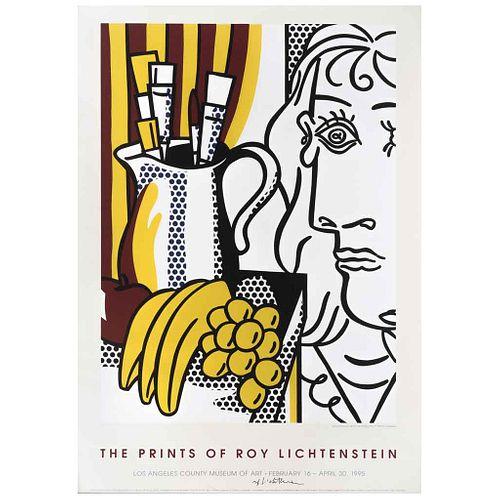 """ROY LICHTENSTEIN, The Prints of Roy Lichtenstein (Still Life with Picasso, 1973), Signed, Offset Screenprint, 30.7 x 22"""" (78 x 56 cm)"""