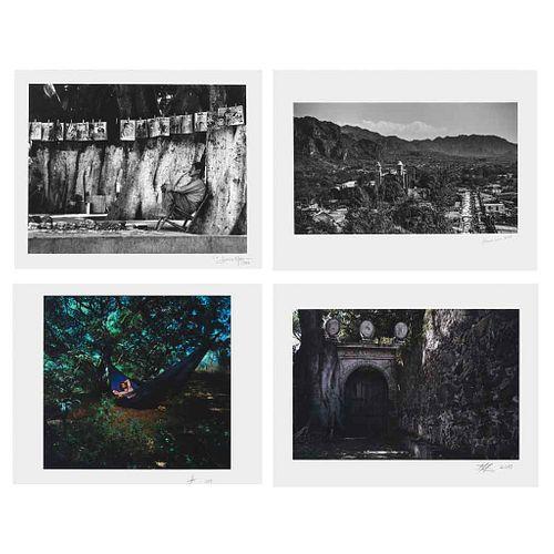 MULTIPLE PHOTOGRAPHERS, Morelos, un estado en la Mirada de los fotógrafos, Signed and dated, Piezographs, Various measurements, Pieces: 102