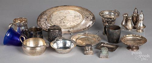 Sterling silver tablewares, 53.6 ozt.