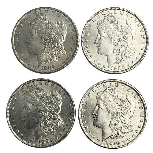Morgan Silver Dollar Lot 1882-O 1885 1886 1890