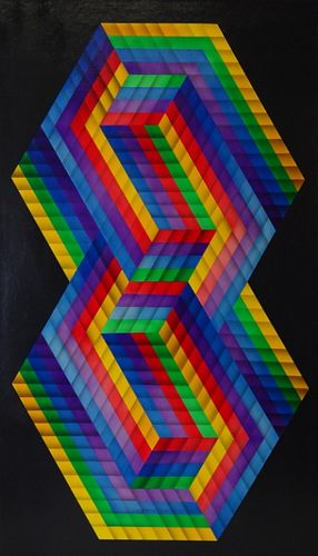 Victor Vasarely (FRENCH/HUNGARIAN, 1906–1997)