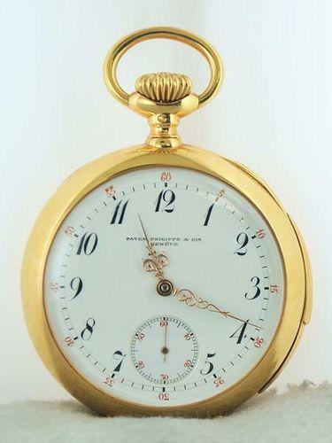 1901 Patek Philippe & Cie Pocket Watch for Leroy Fales in 18K w/COA $100k Apr!