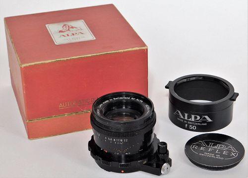 Kern Macro-Switar AR 50mm f/1.9, for Alpa