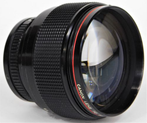 Canon Lens 85mm f/1.2, for Canon FD