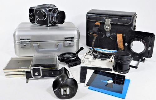Hasselblad 500C Camera and Accessories