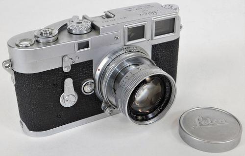 Early 1955 Leica M3 35mm Rangefinder Camera