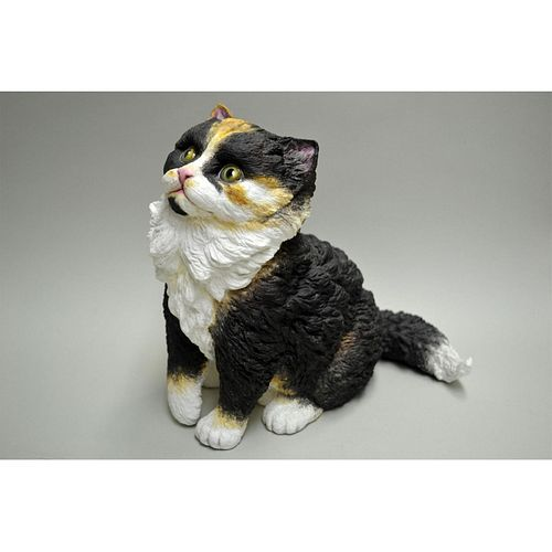 CONNOISSEUR PORCELAIN OF MALVERN, UK CAT WHISKEY