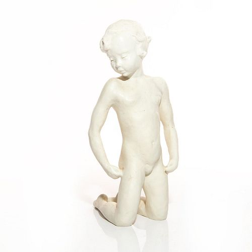 ROSENTHAL PORCELAIN SCULPTURE, YOUNG BOY