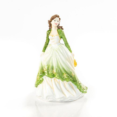 ROYAL DOULTON PROTOTYPE FIGURINE LADY IN GREEN
