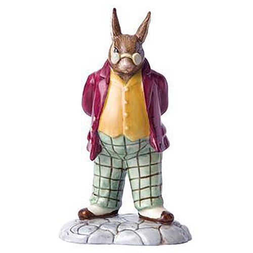 ROYAL DOULTON BUNNYKINS FIGURINE, FATHER DB404