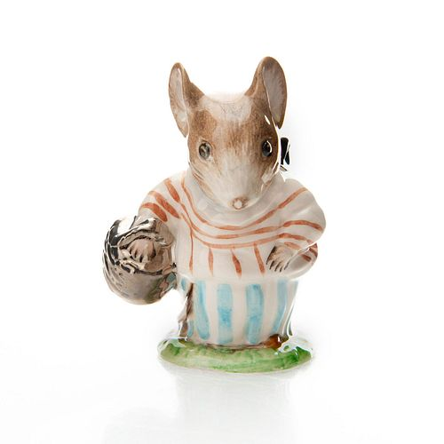 ROYAL ALBERT BEATRIX POTTER FIGURINE, MRS TITTLEMOUSE
