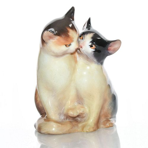 ROYAL DOULTON ANIMAL FIGURINE, CATS HN234