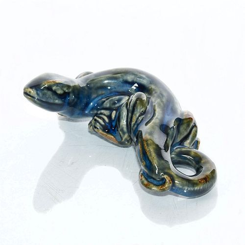 ROYAL DOULTON MARK MARSHALL STONEWARE LIZARD