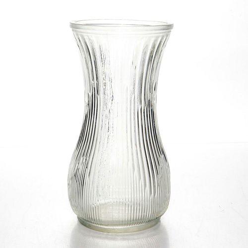 VINTAGE SYNDICATE SALES HOOSIER GLASS DECORATIVE VASE