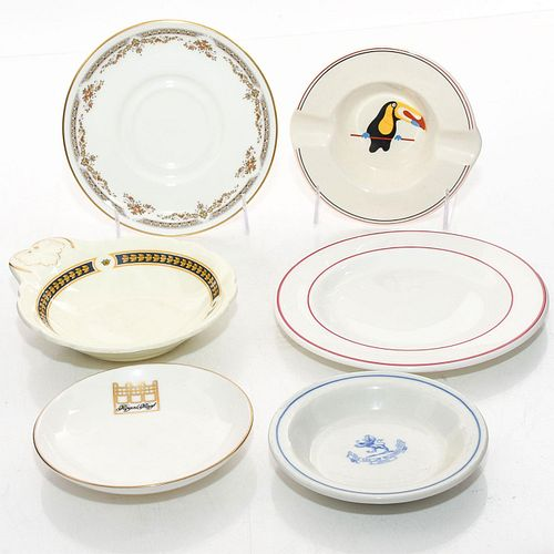 6 ROYAL DOULTON VARIOUS HOTELWARE PLATES AND DISHES