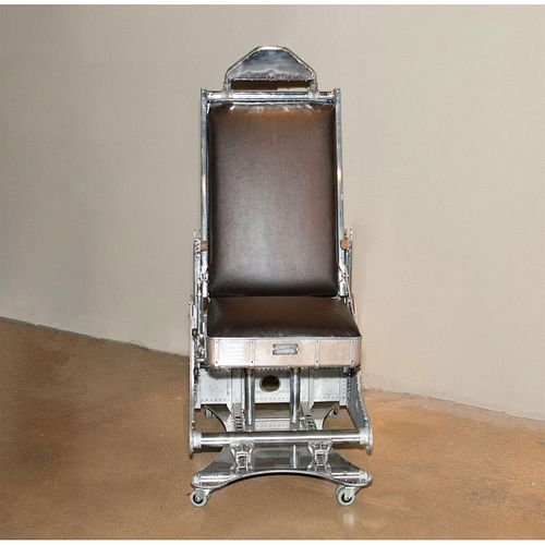 BOEING C97 STRATO LEATHER PILOT CHAIR