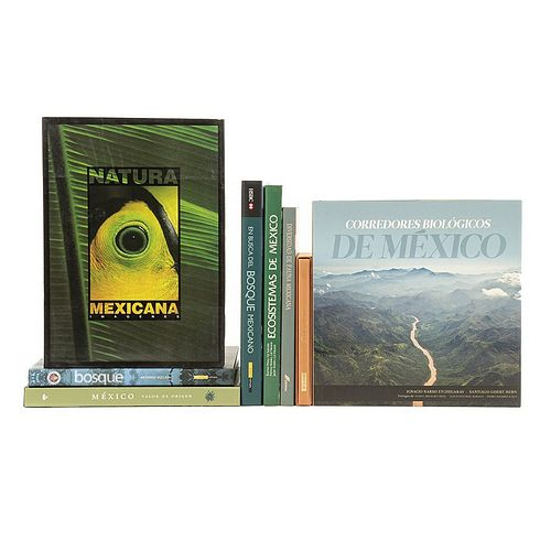 Mexican Ecosystems. Ecosistemas de México/ Diversidad de Fauna Mexicana/ Natura Mexicana Imágenes/ Senderos Perdidos... Pieces: 8.