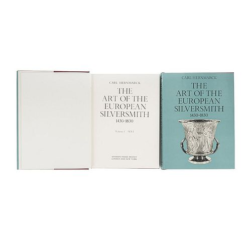 Hernmarck, Carl. The Art of the European Silversmith 1430 - 1830. London, 1977. Tomes I - II. Pieces: 2