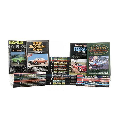 Lot of 65 Magazines on Automobiles. Ferrari, Alfa Romeo, Facel Vega, Porsche, Studebaker, Lancia, Abarth, Ford, BMW... Pieces: 65.