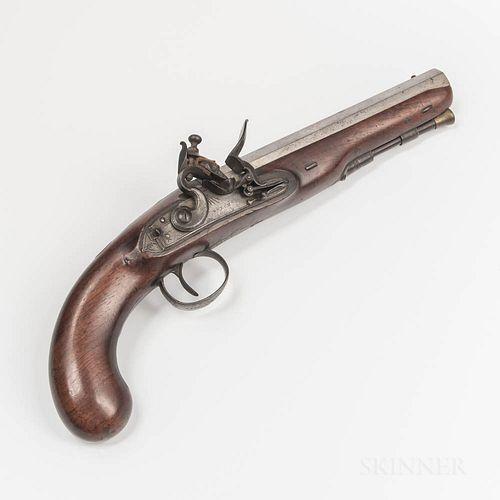 English Flintlock Pistol
