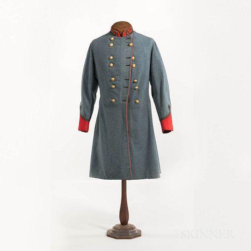 Confederate Artillery Brigadier General's Frock Coat