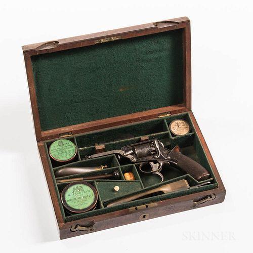 Cased 3rd Model Tranter Revolver