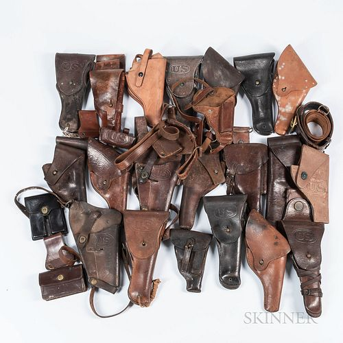 Group of Military Holsters