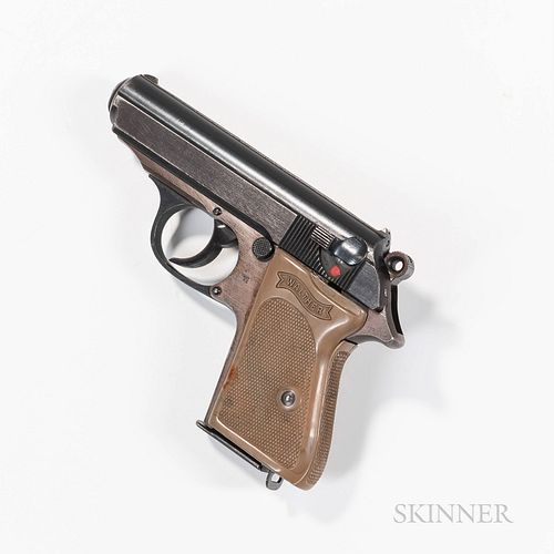 Walther PPK Semiautomatic Pistol with Police Acceptance Marking
