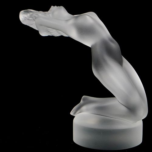 "Lalique Crystal ""Chrysis"" Figurine"