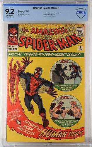 Marvel Comics Amazing Spider-Man #8 CBCS 9.2