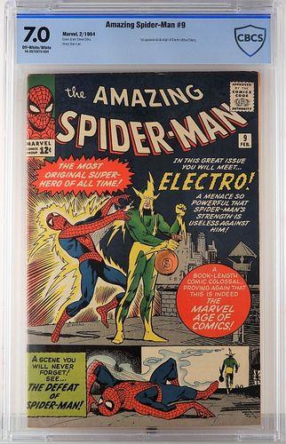 Marvel Comics Amazing Spider-Man #9 CBCS 7.0