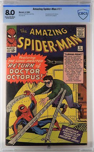 Marvel Comics Amazing Spider-Man #11 CBCS 8.0